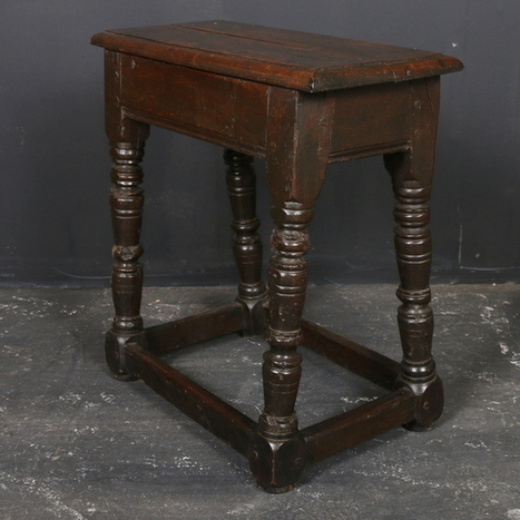 Oak Joint Stool - Antique NEW STOCK | Antique Painted Furniture UK | Scoop.it