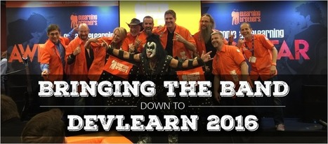 Bringing the Band Down to DevLearn 2016 - eLearning Brothers | eLearning Tips | Scoop.it