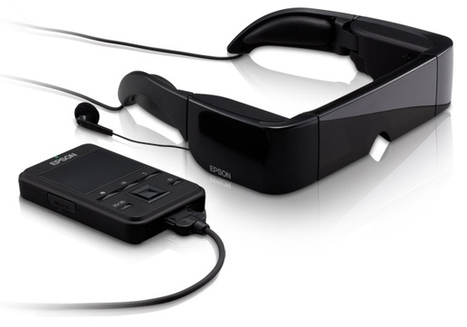 Epson Moverio BT-100 head-mounted display: In-depth hands-on | Immersive Virtual Reality | Scoop.it