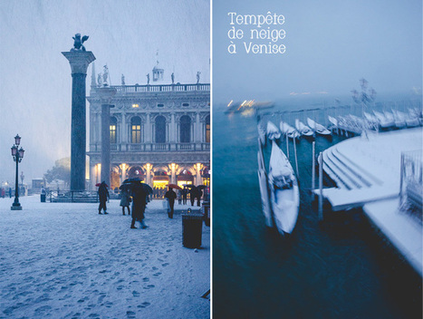 Venise… sous la neige | L'Italie : art & culture | Scoop.it