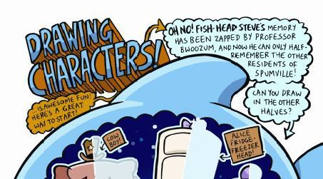 New comic activity resources | National Literacy Trust | Comicsforkids | Scoop.it