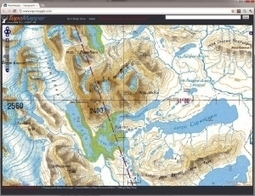 Free online topographic maps for hiking | GisZone | Scoop.it