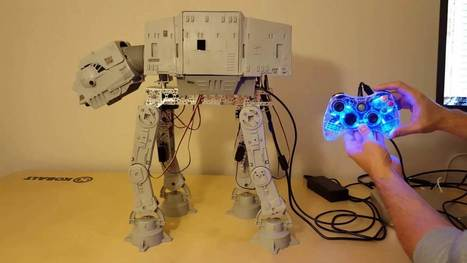 Vintage AT-AT Walker Toy Brought to Life With an Xbox 360 Controller and an Arduino Uno Board | Raspberry Pi | Scoop.it
