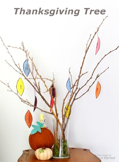 'Count Your Blessings' Thanksgiving Tree | Multilingues | Scoop.it