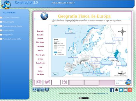 ¿Te gustan los mapas? | Recursos Educativos para ESO, Geografía e Historia | Scoop.it
