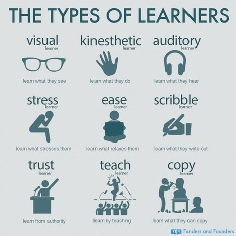 [Infographic] The 9 different styles that people use to learn new things | Sinapsisele 3.0 | Scoop.it