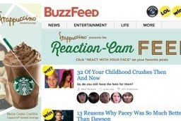 Starbucks, BuzzFeed Introduce Reaction-Cam to Create Animated GIFs of Your Face | Tracking Transmedia | Scoop.it