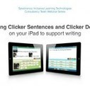 Using Clicker Sentences and Clicker Docs on Your iPad to Support Writing | Spectronics Online | Speech-Language Pathology | Scoop.it