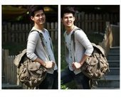 rugged canvas rucksack unisex | personalized canvas messenger bags and backpack | Scoop.it