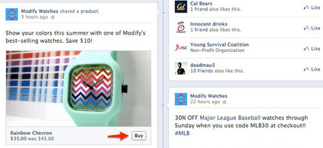 Facebook's Buy button lets you purchase products directly from Page posts and ads | Future of Retail | Scoop.it