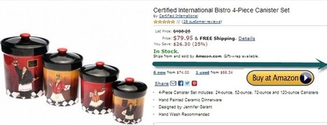 Certified International Caliente 4-Piece Canister Set | Kitchen Canister Sets | Scoop.it