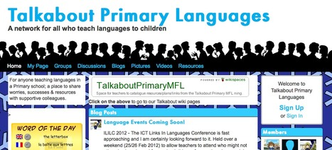Talkabout Primary Languages - A network for all who teach languages to children | Primary languages | Scoop.it