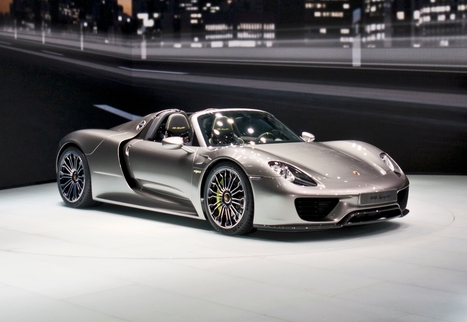 2014 Porsche 918 Spyder   Automobile   Scoop.it