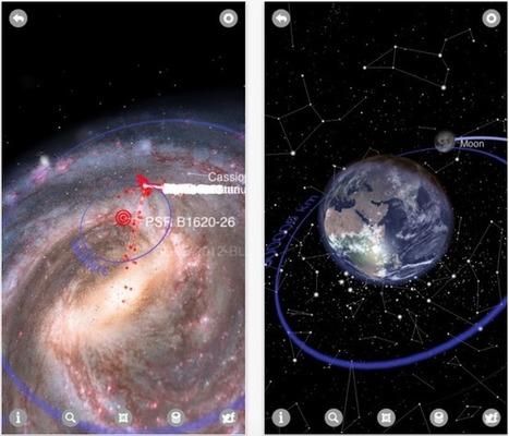 Las 5 mejores apps de astronomía para disfrutar de las estrellas en verano | iPad classroom | Scoop.it