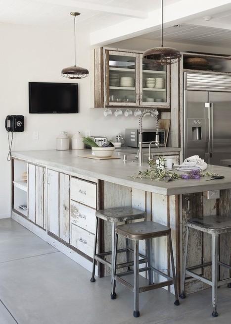 Remodeling 101: Concrete Countertops: Remodelista | Kuche Design | Scoop.it