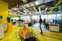 Amazing Google's New Office In Dublin Futuristic Design - | Air Circulation and Ceiling Fans | Scoop.it