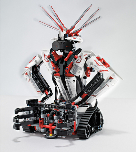LEGO mindstorms EV3 programmable robots controlled by smartphone | Programming, Sequencing and Robotics | Scoop.it