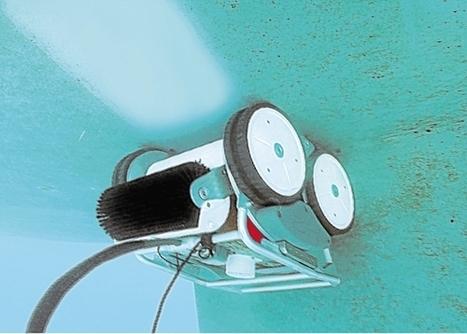 Le robot qui brosse, sous l'eau, la coque des bateaux | Robotique de service | Scoop.it
