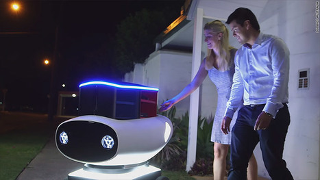 Domino's pizza delivery robot is coming to your door | Black Family Technology Awareness | Scoop.it