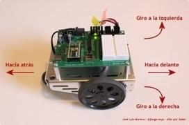 Paso 6. Programando los movimientos del robot   Afán por saber   Afán por saber   Scoop.it