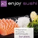 Enjoy Sushi adopte l'application Vente à Emporter d'Applibiz ... | SUSHIJU | Scoop.it