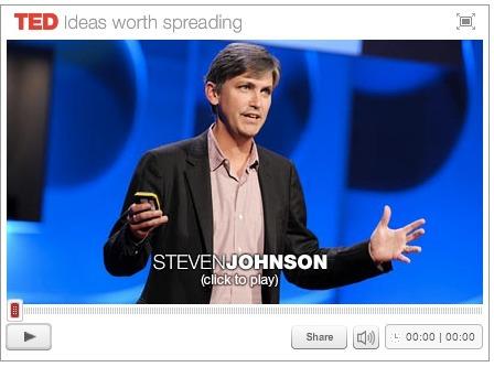 Steven Johnson: The Liquid Network Of Ideas | hypebot | :: The 4th Era :: | Scoop.it