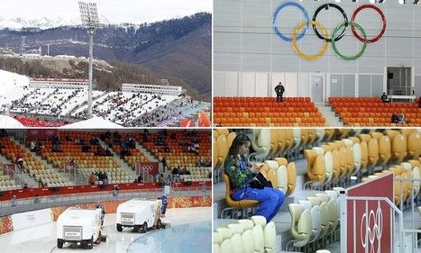 Too cold? Sochi suffers from empty seats and a lack of atmosphere | Sports Facility Management | Scoop.it
