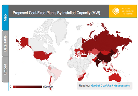 Global Climate at Risk as Nearly 1,200 New Coal Plants Proposed [interactive infographic] | green infographics | Scoop.it