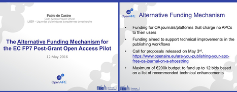 Funding Available for APC-Free Open Access Journals and Platforms (May 2016) | Webinars | Open Access Now ! | Scoop.it
