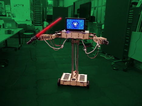 Multipurpose Mobile Manipulator Mk 1 | Open Source Hardware News | Scoop.it