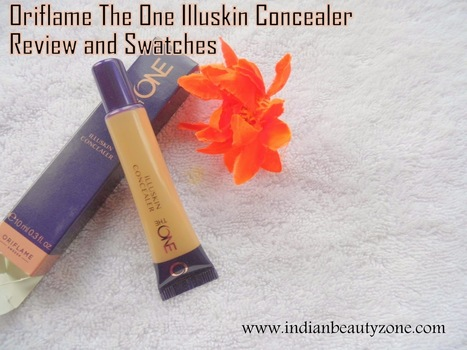 Oriflame The One Illuskin Concealer Review and Swatches | Indian Beauty Zone | Indian Beauty Zone | Scoop.it
