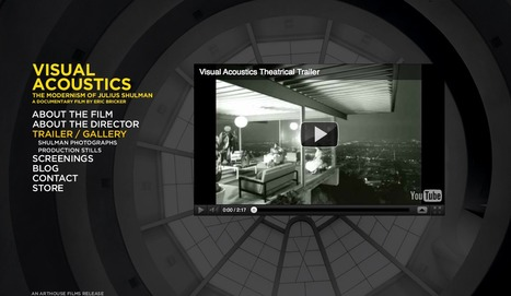 """Best cultural documentary I ever seen - """"Visual Acoustics: The Modernism of Julius Shulman""""   The Architecture of the City   Scoop.it"""