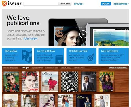 Issuu - You Publish | Social media kitbag | Scoop.it