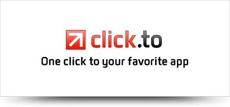 Click.to : cliquez, copiez, partagez... | Le Top des Applications Web et Logiciels Gratuits | Scoop.it