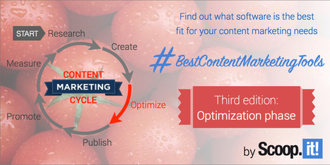The best content marketing tools for the optimization phase (3/6) | Content Marketing and Curation for Small Business | Scoop.it