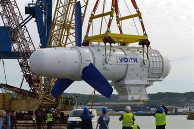 Cherbourg. Hollande donne le coup d'envoi de l'hydrolien français - Économie - ouest-france.fr   ECONOMIES LOCALES VIVANTES   Scoop.it