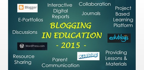 A Look at Blogging in the Classroom as we Start a new School Year | Information Literacy | Scoop.it