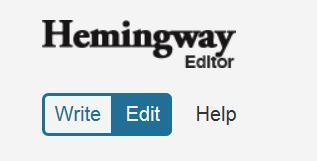 Hemingway Editor - improve your Writing! | Monya's List of ESL, EFL & ESOL Resources | Scoop.it
