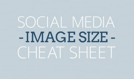 Social Media Image Sizes for 2016 [Infographic] | Grow Social Net | Scoop.it