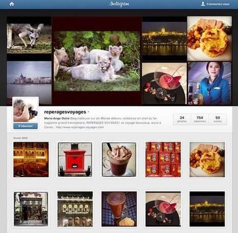Instagram, votre réseau de partage de photos | Un Monde Ailleurs, blog de voyages | Voyager par le biais d'Internet | Scoop.it