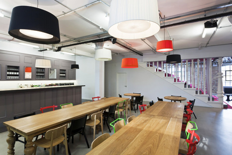 London Calling: Check Out 9 Fabulous London Offices  |  Turnstone | Innovative Design in Commercial Real Estate | Scoop.it