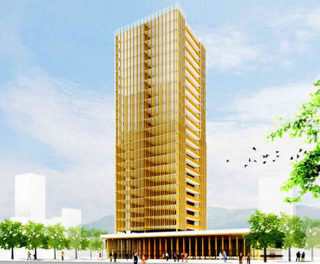 Canadians getting 30-story skyscraper made of wood | D_sign | Scoop.it