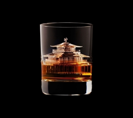 Suntory Whisky 3-D Printed the World's Most Incredible Ice Cubes | The Blog's Revue by OlivierSC | Scoop.it