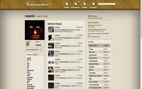 'Stock Market For Music Hipsters' TastemakerX Hits Beta In Time For Coachella | Music business | Scoop.it