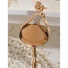 Fashion Lovely Ballet Girl Crystal Brooches Wholesale SP07116 | fashion and cheap jewelry | Scoop.it