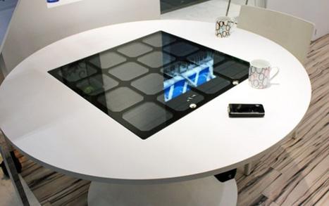 Una mesa que funciona con energia solar es capaz de cargar tus gadgets | Reciclando un poco! | Scoop.it