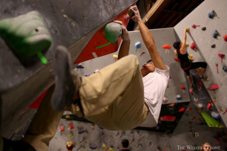 Climbers hit the rocks despite rainy season - Western Front | colinfergusonce | Scoop.it