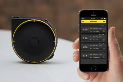 Bagel is a Smart Bluetooth Tape Measure Compatible with Android and iOS Phones (Crowdfunding) | Embedded Systems News | Scoop.it