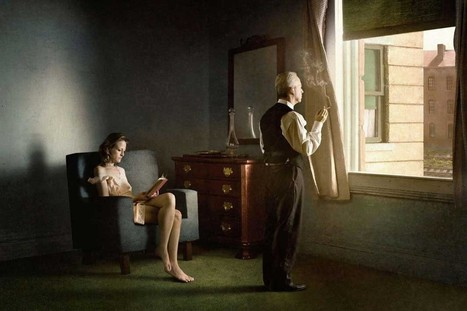 Stunning Photographs Inspired by Edward Hopper Paintings | Inspired By Design | Scoop.it