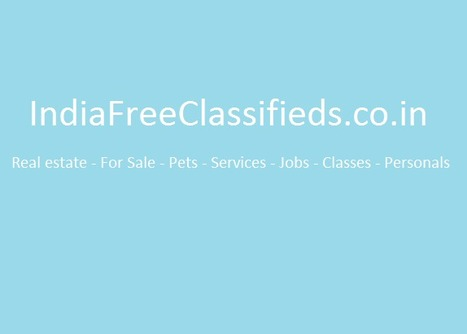 India Free Classifieds | post online free advertising internet ad | India Free Classifieds | post online free advertising internet ad | Scoop.it